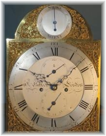 Eighteenth century London long-case dial
